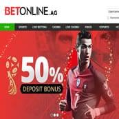 Betonline 50% Bonus Offer
